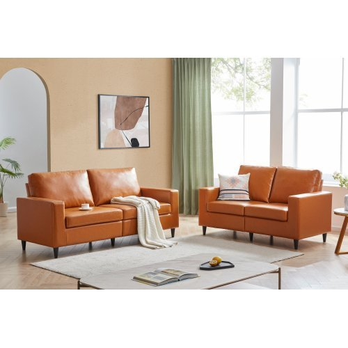Loveseat Faux Leather Sofa Sets, Faux Leather Loveseat Sofa Bed